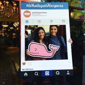 Social Guerrilla Promo #WhaleyatHarpers